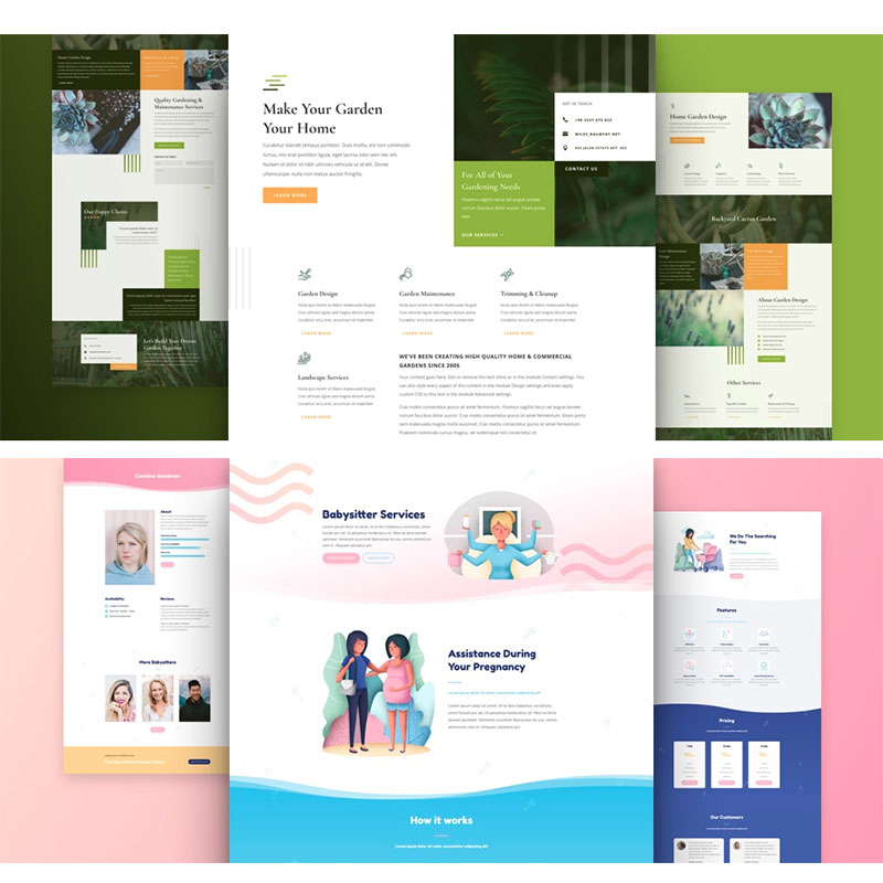 3-5 Page Website